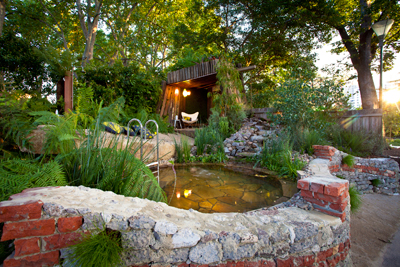 Natural Pool Garden Wins Green Award Splash Magazine