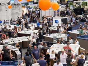 The excitement of the Pool & Spa Expo + Outdoor Design Show
