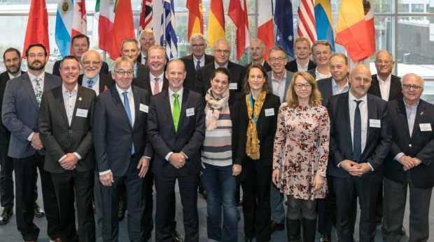 Representatives from the 16 foundations member countries announced the formation of WASPA