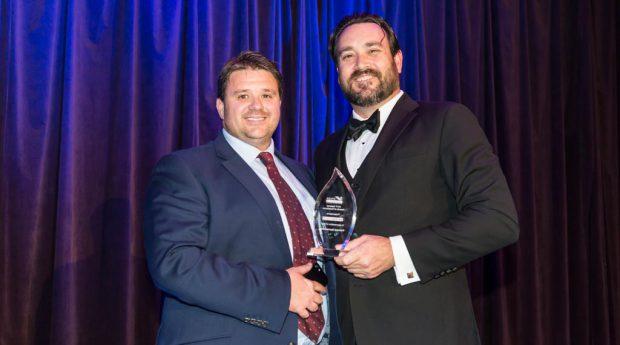 Matt Adlam, MD of AstralPool Australia with Lindsay McGrath, CEO of SPASA Australia